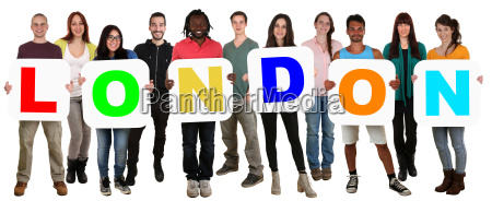 group of young people people multiculturally