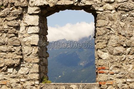 ehrenberg castle ruins in austria
