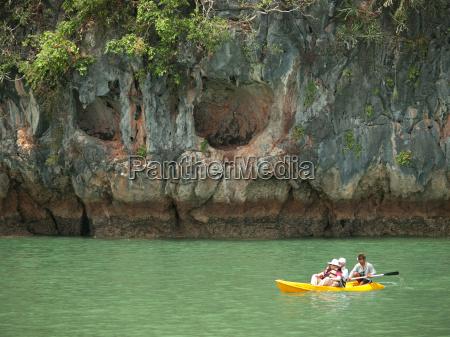 kayaking in pang nga bay thailand