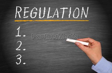 regulation checklist