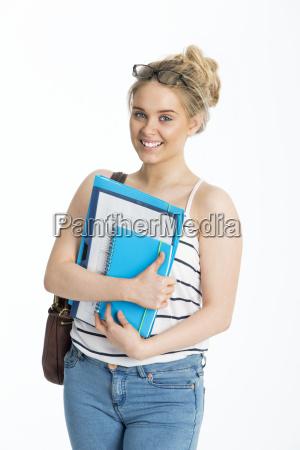 teenage schoolgirl