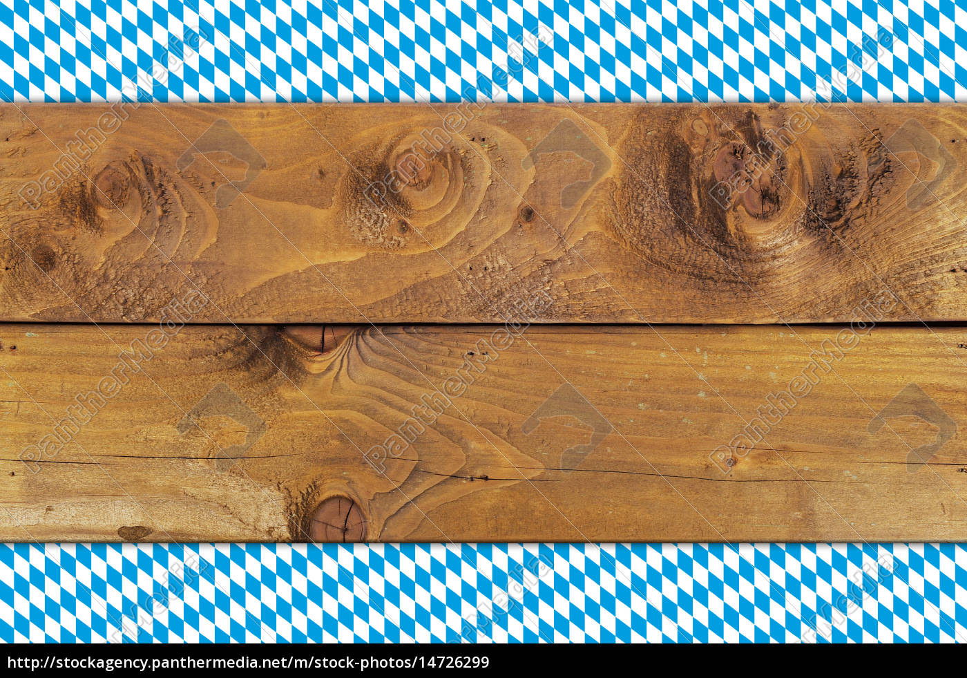 bavarian, flag, on, wooden, boards - 14726299