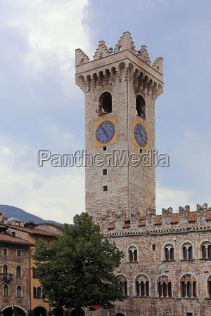 the city tower of palazzo pretorio