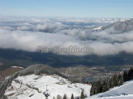 skiing am wilden kaiser