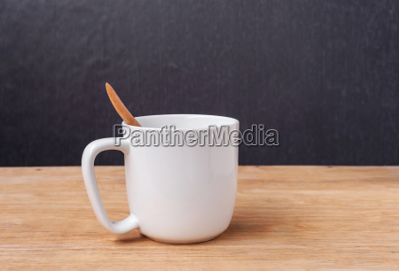 white cup of a coffee