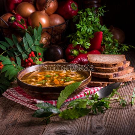 polish beef tripe soup