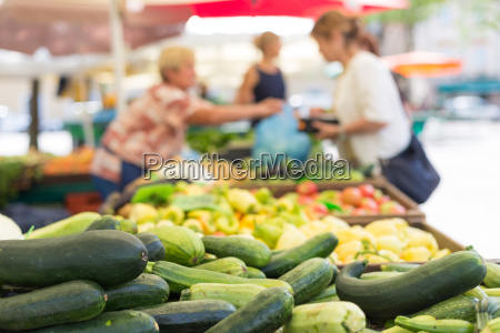 farmers39 food market stall with variety