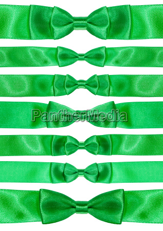 set of symmetric bow knots on