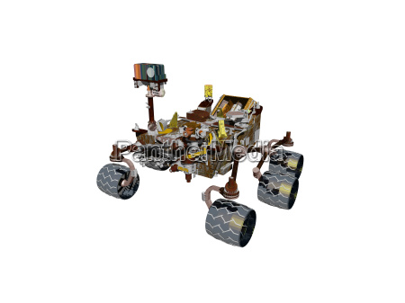 exempted mars rover on red planet