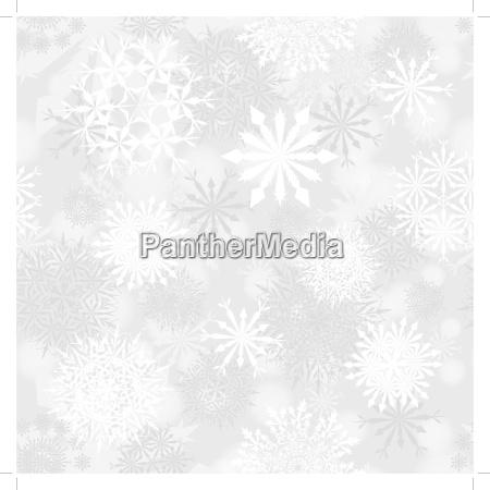 seamless snowflake patterns