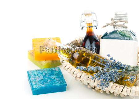 significant different oils with soap and