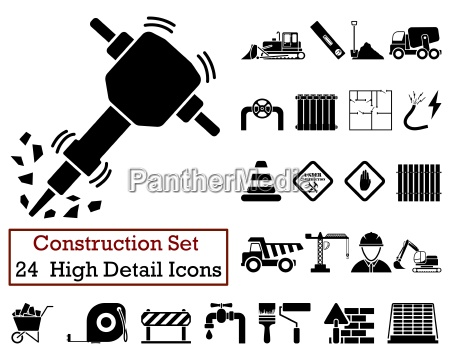 24 construction icons