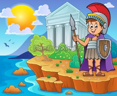 roman soldier theme image 2
