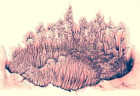 beautiful mysterious world ebru technique purple