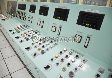 control room of a water treatment