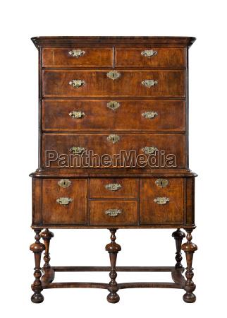 old antique european dresser or chest