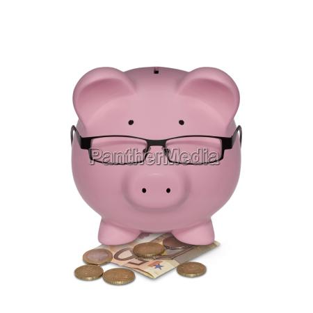 piggy bank represented as a manager