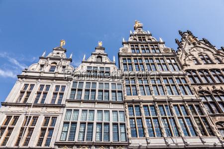 historic buildings in antwerp belgium