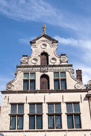 old building in antwerp belgium