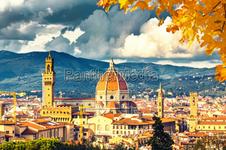 view on florence