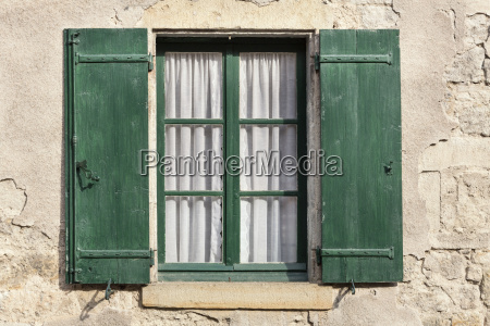 window on a residential house in
