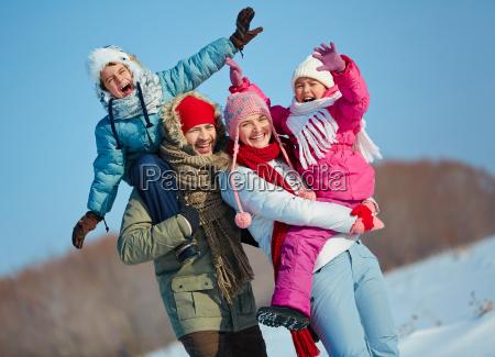 ecstatic family