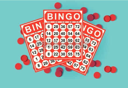illustration of bingo card