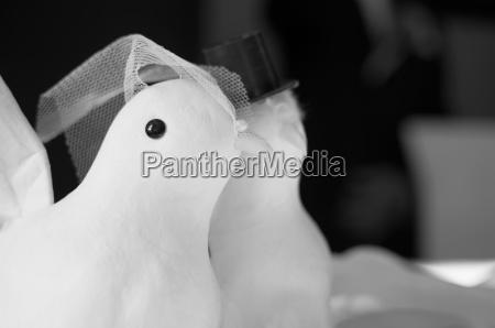 wedding dove figurines