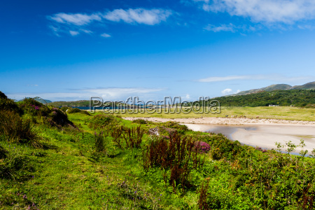 derrynane bay ring of kerry ireland