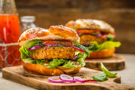 healthy vegan burger