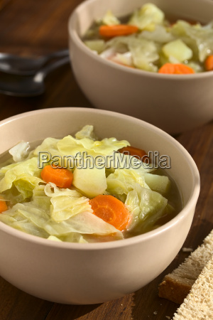 savoy cabbage carrot and potato stew