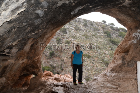 cave in milatos crete