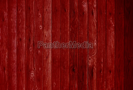 red wooden wall