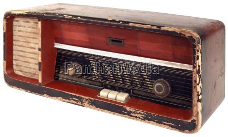 old radio cutout