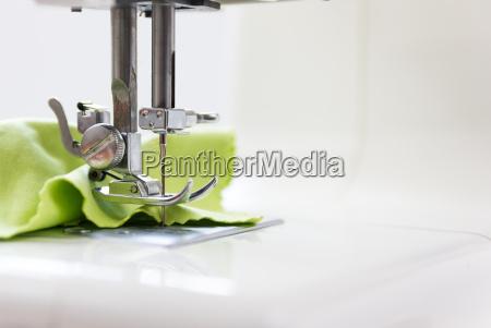 sewing machine white