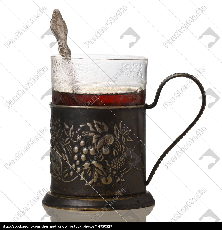 tea, in, glass-holder - 14930329