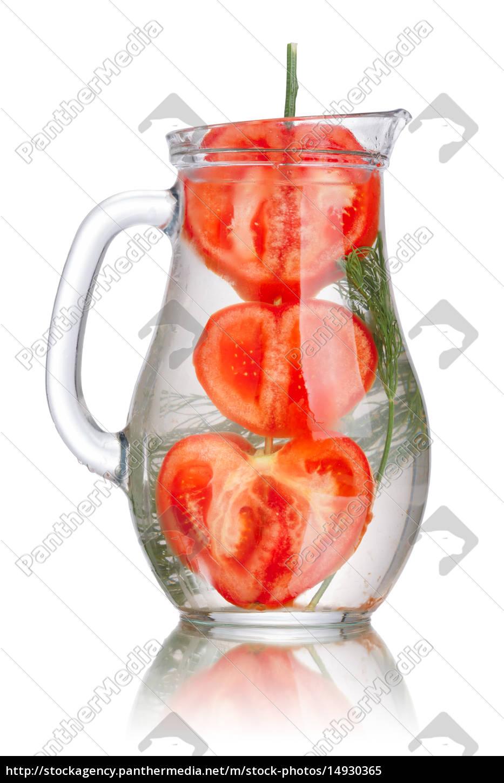 tomato, dill, detox, water - 14930365
