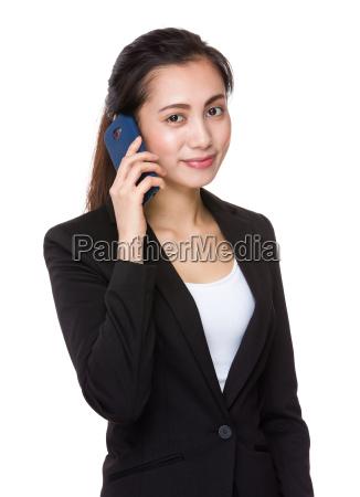 asian, businesswoman, talk, to, cellphone - 14932875