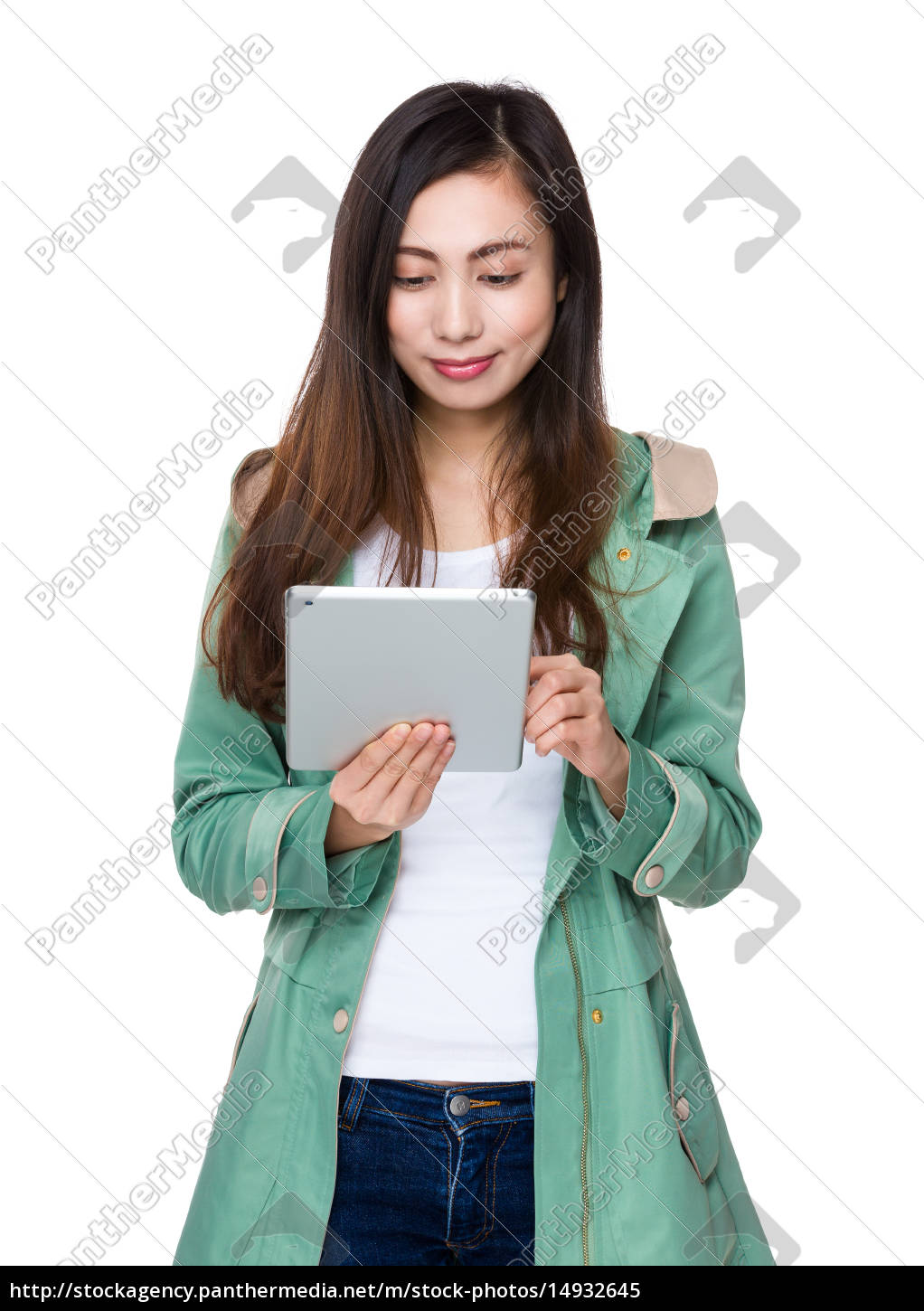 woman, use, of, tablet, pc - 14932645