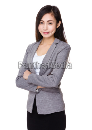 young, businesswoman - 14932735