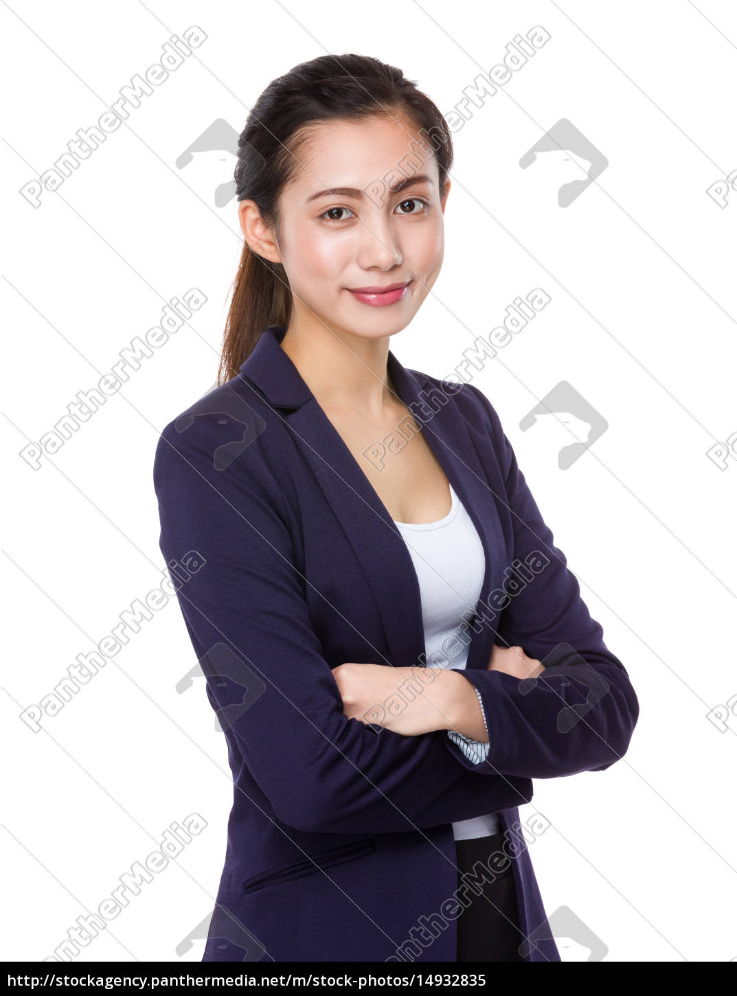 young, businesswoman - 14932835