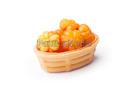 cloudberry, tart - 14934747