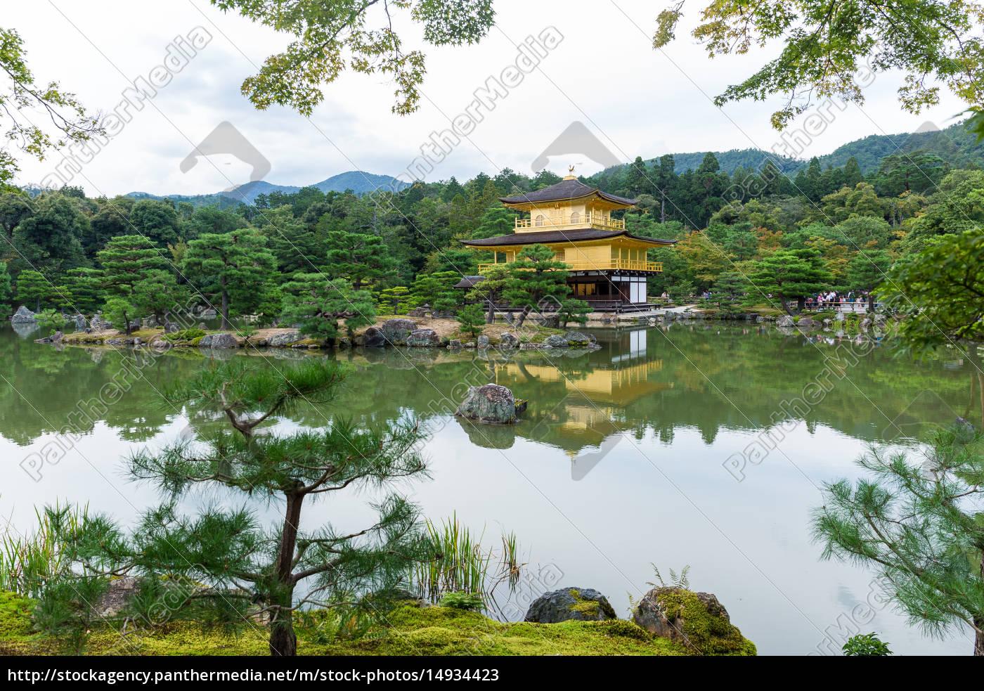 kinkakuji, temple, (the, golden, pavilion), in - 14934423