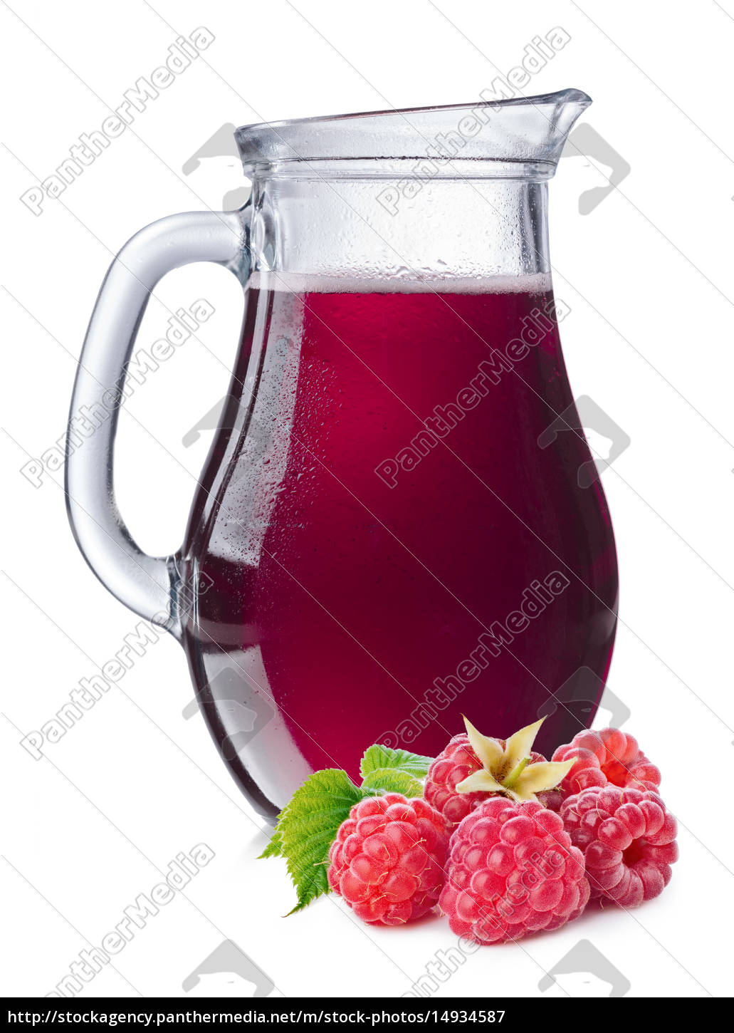 raspberry, , juice, in, a, pitcher - 14934587