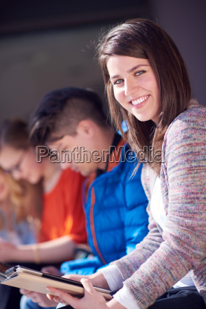 students, group, working, on, school, - 14939941