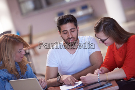 students, group, working, on, school, - 14940087