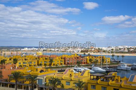 yacht marina in portimao algarve portugal