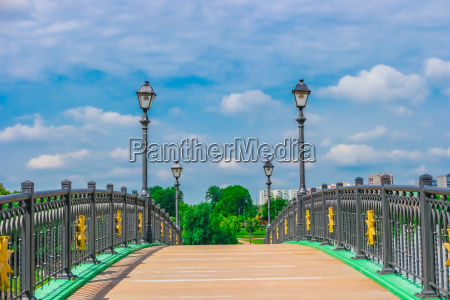bridge, in, tsaritsyno, park, , moscow - 14941129