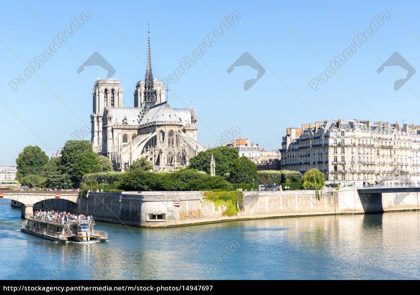 cathedral, notre, dame, paris, with, cruise - 14947697