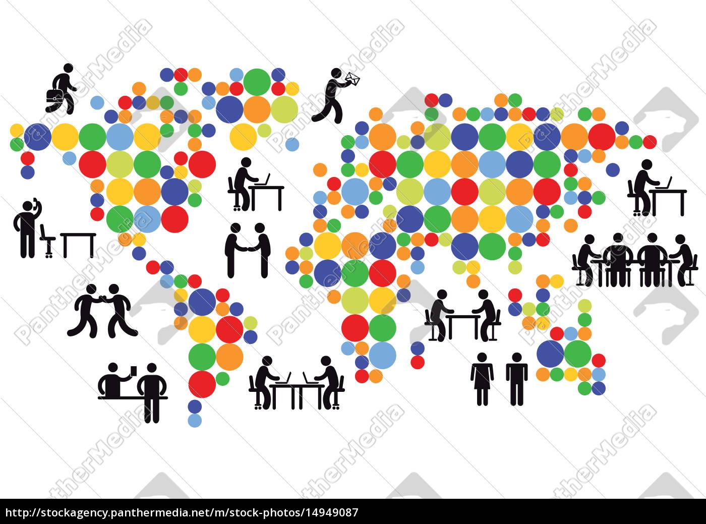 global, networking - 14949087